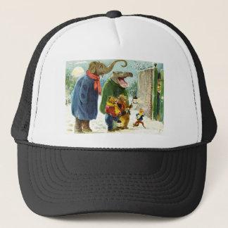 Animal Christmas Trucker Hat
