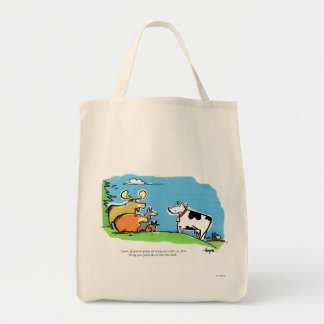 Animal Click Canvas Bags