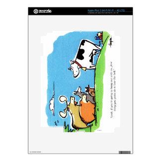 Animal Click iPad 3 Decal