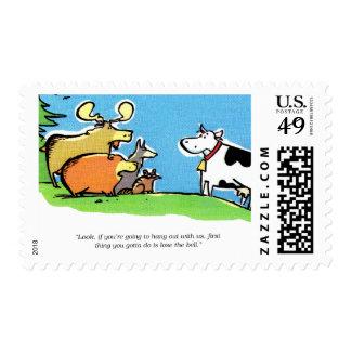 Animal Click Postage Stamp