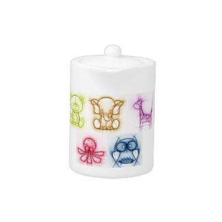 Animal Colors Teapot