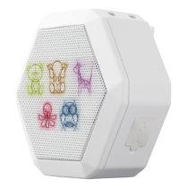 Animal Colors White Bluetooth Speaker