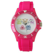 Animal Colors Wrist Watch