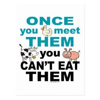 Animal Compassion Postcard
