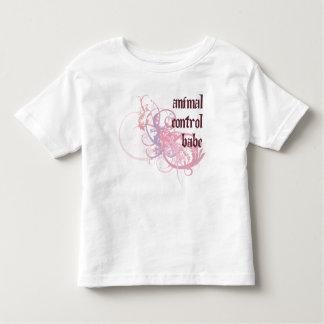 Animal Control Babe Toddler T-shirt