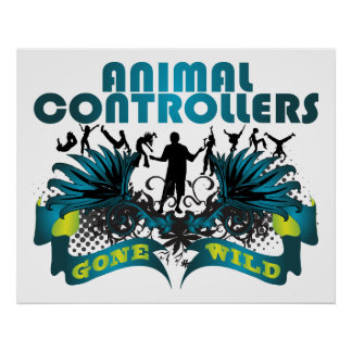 Animal Controllers Gone Wild Poster