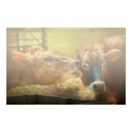 Animal - Cow - Let mommy clean that Customized Stationery