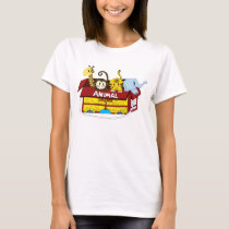 Animal Crackers Baby Doll T-shirt