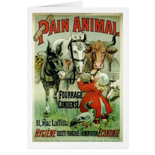"""Animal Crackers"" Card"