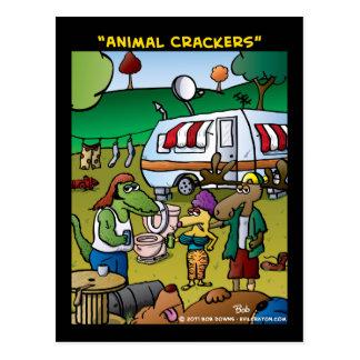 """Animal Crackers"" Postcard"