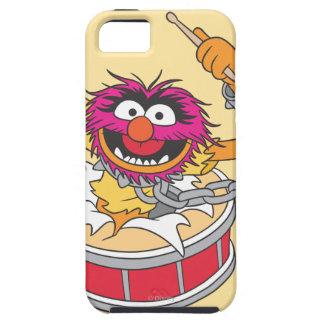Animal Crashing Through Drums iPhone 5 Covers