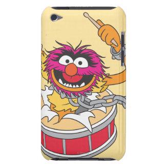 Animal Crashing Through Drums iPod Case-Mate Cases