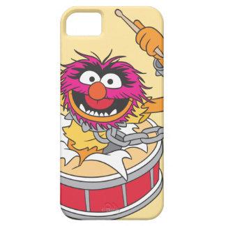 Animal Crashing Through Drums iPhone SE/5/5s Case