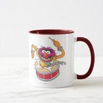 Animal Crashing Through Drums Mug