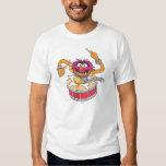 Animal Crashing Through Drums T Shirts