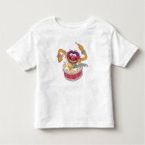 Animal Crashing Through Drums Toddler T-shirt