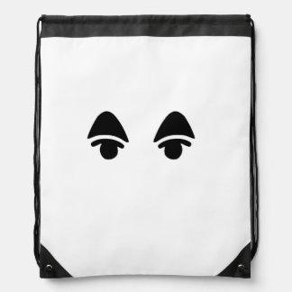 Animal Crossing KK Slider Eyes Drawstring Backpack