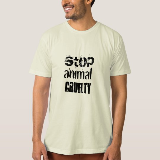 ANIMAL CRUELTY T SHIRT