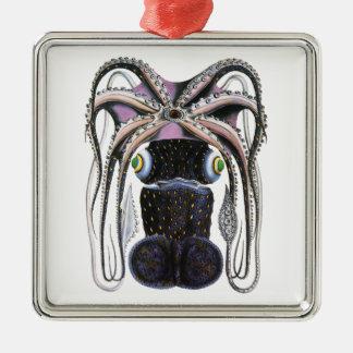 Animal de la vida marina del vintage pulpo gigant ornamentos para reyes magos