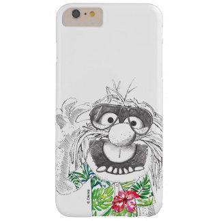 Animal de los Muppets el | en una camisa hawaiana Funda Barely There iPhone 6 Plus