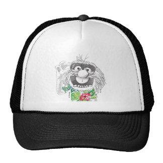 Animal de los Muppets el | en una camisa hawaiana Gorros