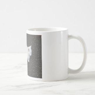 Animal de mascota del gato taza de café