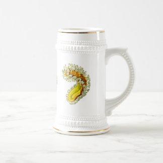 Animal de musgo jarra de cerveza