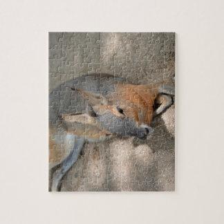 animal de reclinación animal del cavy patagón puzzles