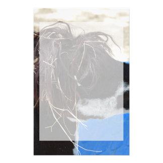 animal del campo azul unkept de la piscina del papelería de diseño