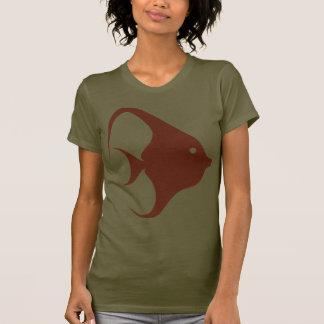 Animal del océano de Pterophyllum de los Cichlids Camiseta