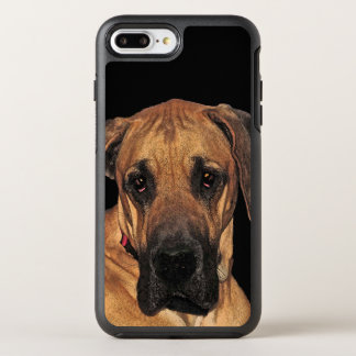 Animal del perro de great dane Brown Funda OtterBox Symmetry Para iPhone 7 Plus