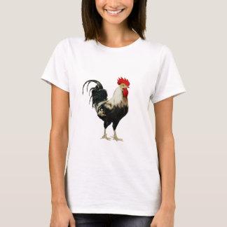 Animal del personalizar del pollo del gallo del playera