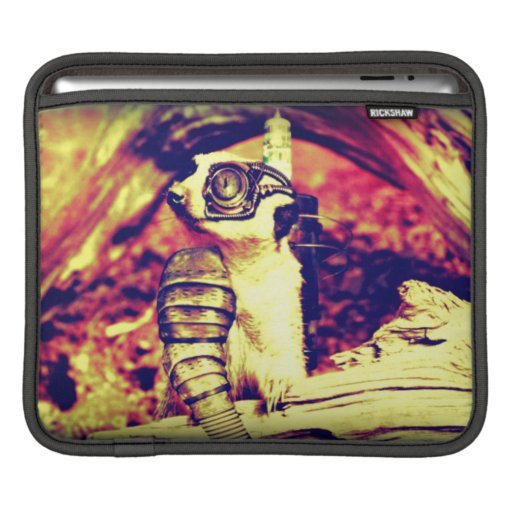 animal del steampunk fundas para iPads