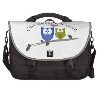Animal Design Rickshaw Bags Laptop Messenger Bag