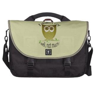 Animal Design Rickshaw Bags Laptop Commuter Bag