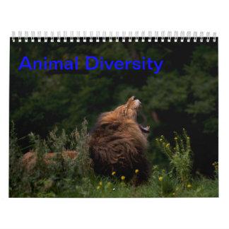 Animal Diversity Calendar