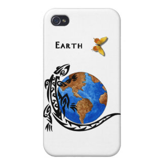 Animal Earth iPhone 4 Cover