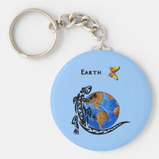 Animal Earth Keychain