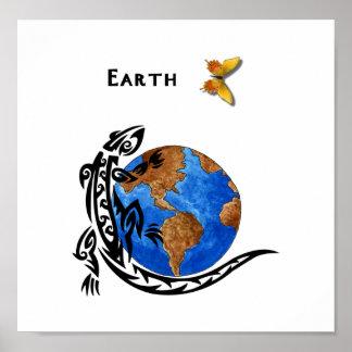 Animal Earth Poster