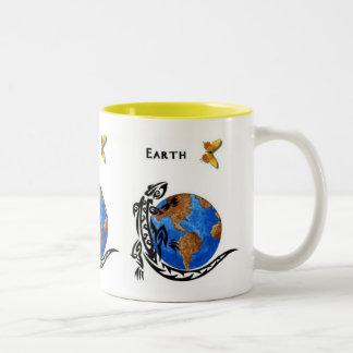 Animal Earth Two-Tone Coffee Mug