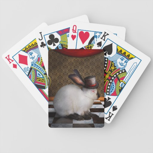 Animal - el conejo baraja de cartas