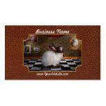 Animal - el conejo tarjeta de visita