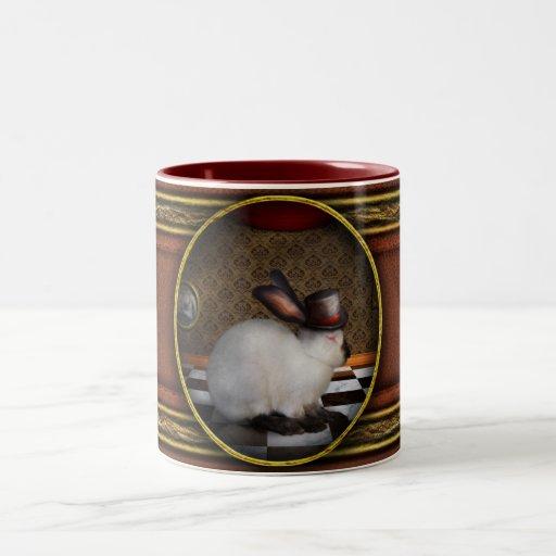 Animal - el conejo taza dos tonos