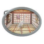 Animal - el Egret Hebilla Cinturón