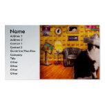 Animal - el gato tarjeta de visita