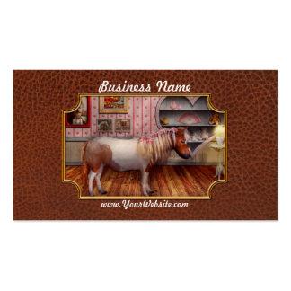 Animal - el potro tarjetas de visita