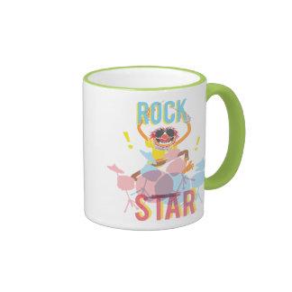 Animal - estrella del rock taza de dos colores