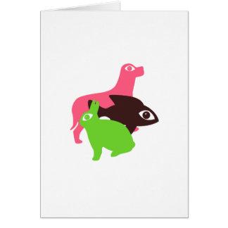 Animal Eyes Card