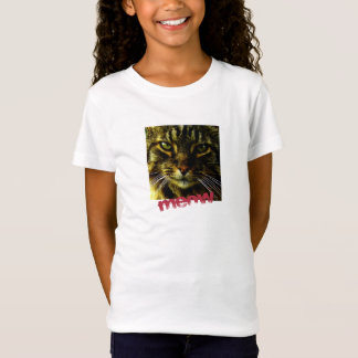 Animal Face Hypnotizing Cat Eyes T-Shirt