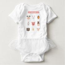 Animal Farm Baby Bodysuit